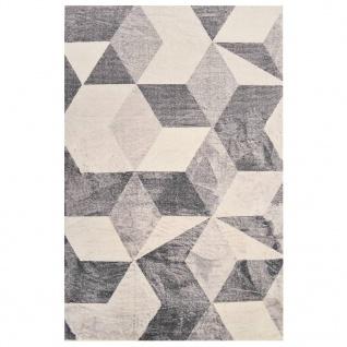 vidaXL Teppich Bedruckt Beige 80x150 cm Polyester