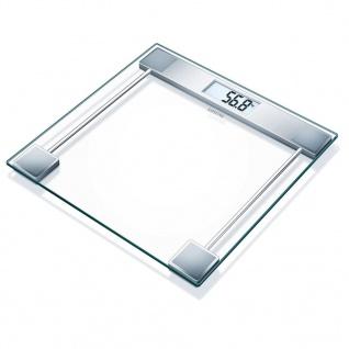 Sanitas Personenwaage Glas 150 kg Transparent SGS 06