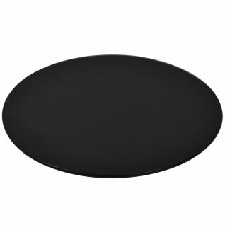 vidaXL Tischplatte aus gehärtetem Glas Rund 600 mm