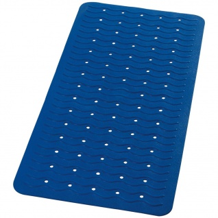 RIDDER Badewanneneinlage Antirutschmatte Playa 80×38 cm Neonblau 68303