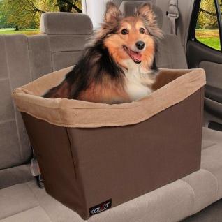Happy Ride Haustier-Autositz Tagalong XL Braun