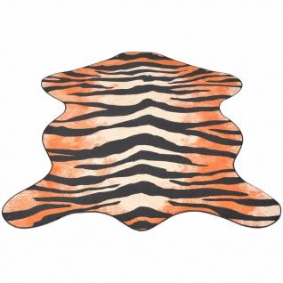 vidaXL Teppich Fellimitat Tiger 70 x 110 cm