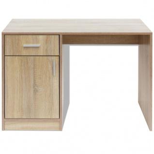 vidaXL Schreibtisch mit Schublade und Schrank Eiche 100x40x73 cm - Vorschau 4
