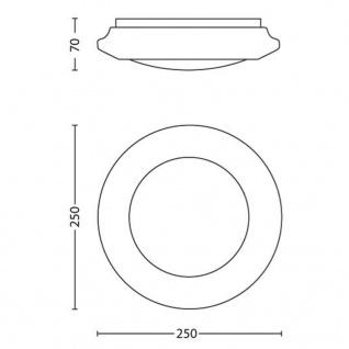 Philips LED Deckenleuchte myLiving Cinnabar Weiß 4x 1, 5W 333613116 - Vorschau 4