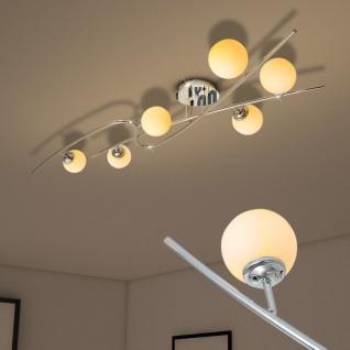 vidaXL Deckenleuchte mit 6 LED-Glühlampen G9 240 W - Vorschau 2