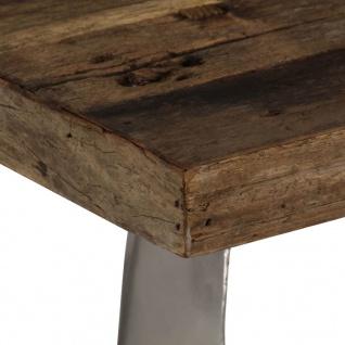 vidaXL Opium Couchtisch Altholz und Stahl 80×78×35 cm - Vorschau 5