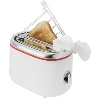 Bestron ATM200RE Sandwichtoaster mit 2 Toast-Halterungen - Vorschau 4