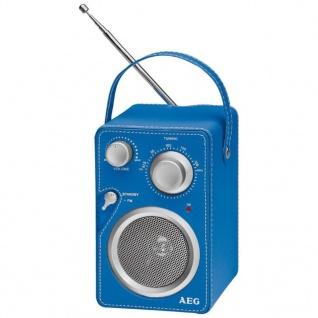 AEG Design-Radio Blau MR 4144