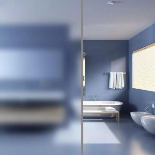 vidaXL Fensterfolie Sichtschutzfolie Milchglas Selbstklebend 0, 9x5 m