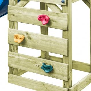 vidaXL Spielturm mit Leiter Rutsche Schaukel 300x197x218 cm Holz - Vorschau 4