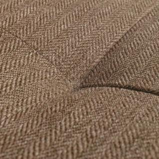 vidaXL Sofa in L-Form mit Ablagefläche aus Holz Stoff Braun XXL 300 cm - Vorschau 2