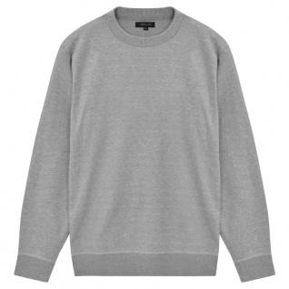 vidaXL Herren Pullover Sweater Rundhals Grau XXL