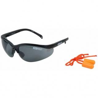 KS Tools Schutzbrille mit Ohrstöpsel Grau 310.0171