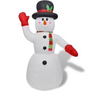 Schneemann aufblasbar 240 cm