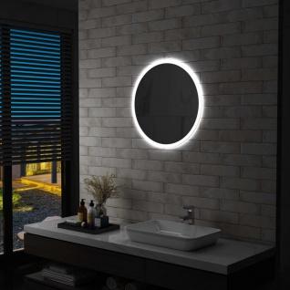vidaXL Badezimmerspiegel mit LED 60 cm