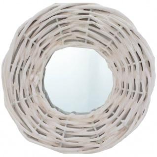 vidaXL Spiegel 3 Stk. Weiß 15 cm Weide - Vorschau 2