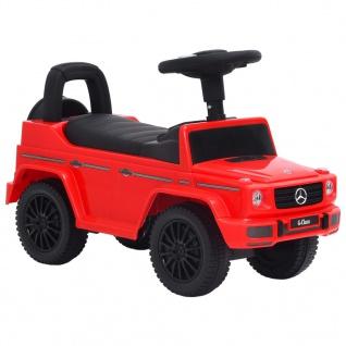 vidaXL Rutschauto Mercedes-Benz G63 Rot
