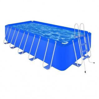 Schwimmbad Schwimmbecken Rechteckig 12945 L + Leiter