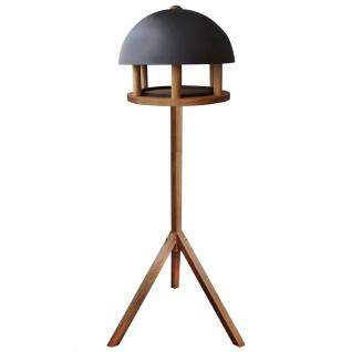 Esschert Design Vogelhäuschen Rundes Stahldach FB429