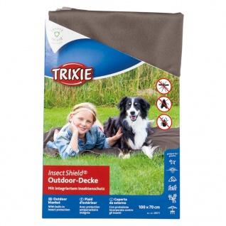 TRIXIE Outdoor Decke Insect Shield 100 x 70 cm Taupe 28571 - Vorschau 2