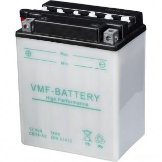 VMF Powersport Batterie 12 V 14 Ah YB14-A2
