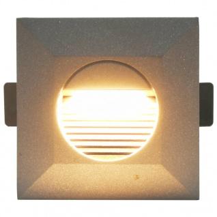 vidaXL Außenwandleuchten 6 Stk. LED 5 W Silbern Quadratisch - Vorschau 4