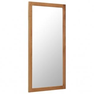 vidaXL Spiegel 60 x 120 cm Massivholz Eiche