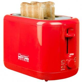 Bestron Toaster Hot Rot 930 W ATS300HR