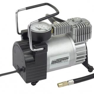 Brüder Mannesmann Minikompressor Aluminium 12 V 01790