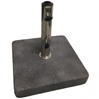 Madison Sonnenschirmfuß 25 kg Granit Schwarz VOE3P033