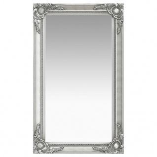 vidaXL Wandspiegel im Barock-Stil 60 x 100 cm Silbern