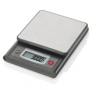Medisana digitale Küchenwaage KS 200 Edelstahl 3 kg 40469