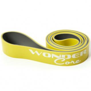 Wonder Core Klimmzugband 4, 4 cm Gelb und Grau WOC048