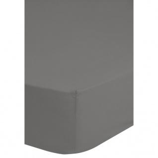 Emotion Spannbettlaken Jersey 180x220 cm Grau 0200.03.47