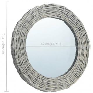 vidaXL Spiegel 40 cm Weide - Vorschau 4