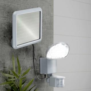 HI LED-Solar-Gartenleuchte mit Bewegungsmelder Kunststoff