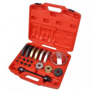 19-tlg. Werkzeug Kompakte Radnabenlagerungseinheit 62 mm, 66 mm, 72 mm