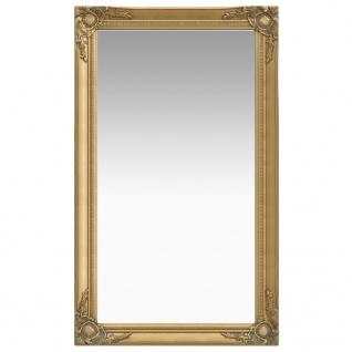 vidaXL Wandspiegel im Barock-Stil 60 x 100 cm Golden
