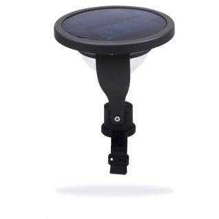 Smartwares Solar-Balkonleuchte mit Sensor 0, 2 W Schwarz GBS-001-DB - Vorschau 5