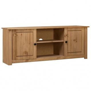 vidaXL TV-Schrank 120 x 40 x 50 cm Massivholz Panama-Kiefer
