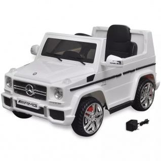 Mercedes Benz G65 Elektrisches Aufsitzauto SUV 2 Motoren Weiß