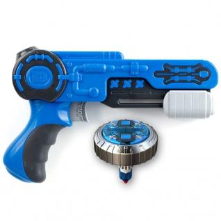 Silverlit Kreisel Blaster Mad Single Shot Mega Wave Blau