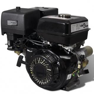 vidaXL Benzinmotor 15 PS 9, 6 kW Schwarz