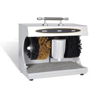 Schuh Poliermaschine mit Schuhcreme