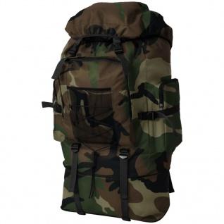 vidaXL Armee-Style Rucksack XXL 100 L Camouflage