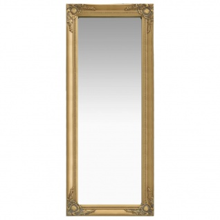vidaXL Wandspiegel im Barock-Stil 50 x 120 cm Golden