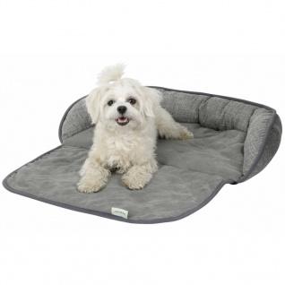 Kerbl Hunde-Couchkissen Emalia 98 x 66 x 12 cm Grau 80375 - Vorschau 3