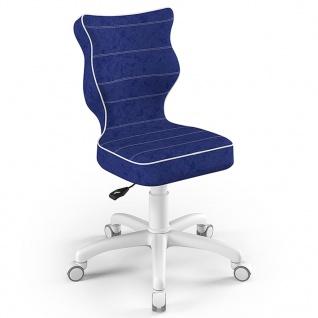 Entelo Good Chair Kinder-Bürostuhl Petit VS06 Ergonomisch Gr.4 Blau