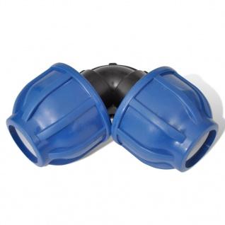PE Rohr Winkel Verschraubung für PE Schläuche/Rohre 20mm