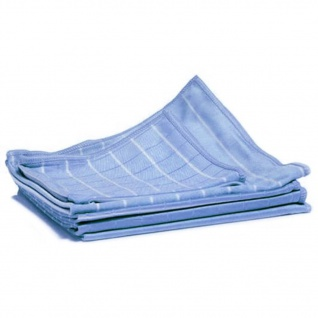 Aqua Laser 6-tlg. Bambus-Staubtuch-Set Blau